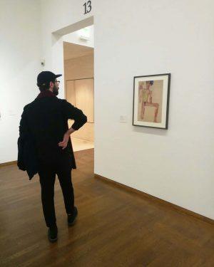 Тот, ради кого я так хотела в Вену - невероятный Эгон Шиле🙈😍 Три священных места 🙌: музей...