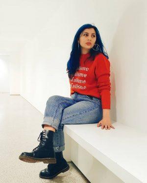surrealism . sweater: #forever21 jeans: #primark shoes: #docmartens mumok - Museum moderner Kunst Wien