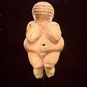 I saw the Venus of Willlendorf!! Art History 101 tour of Europe complete right? Visiting the Natural...