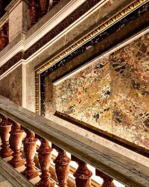 Central stair of the Kunsthistorischesmuseum, Wien. #wien #vienna #architecture #architektur #kunst Kunsthistorisches Museum Vienna