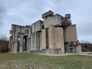 #brutalism #brutalistarchitecture #fritzwotruba #wotrubakirche