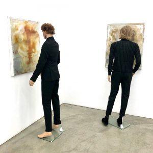 Richard Hoeck x Rudolf Polanszky @gabrielesenngalerie #richardhoeck GABRIELE SENN GALERIE