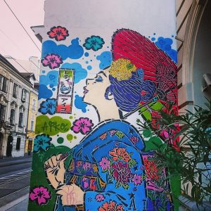 #streetart #muralart #urbanart #colours #painting #graffiti #urban #art #japanesestyle #myvienna #mycity #lovevienna #1000thingsinvienna ...