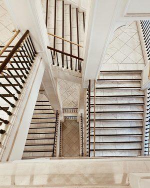 Stair way to heaven #marblestairs Albertina Museum