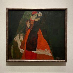 Cardinal and Nun, 1912 - Egon Schiele Leopold Museum