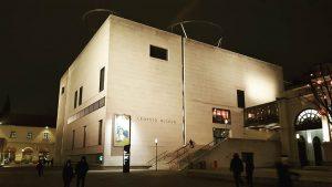 Evening #evening #loveleopold #mqw Leopold Museum