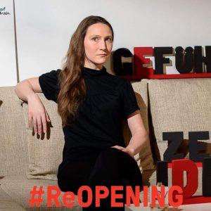 """#ReOPENING KÜNSTLERHAUS 6. März 2020 """"Das kulturelle Mosaik, das wir als Mitglieder im Künstlerhaus gemeinsam bilden, bringt..."""