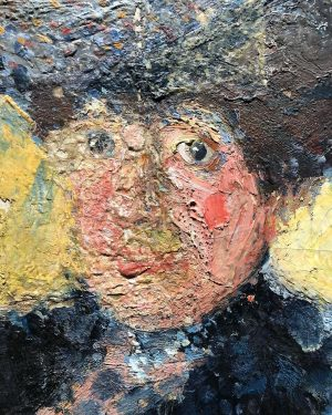 #badpainting#around#1900#portrait#of#the#beloved#woman#of#richardgerstl#mathildeschönberg#detail#of#her#face#landscape#of#color#leopoldmuseum#wien Leopold Museum
