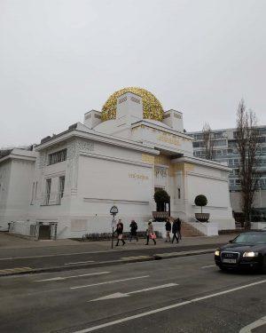 • Secession Vienna • #viennadaily #vienna #wienstagram #wien #discovervienna #architecture #exploremore #wanderlustvienna