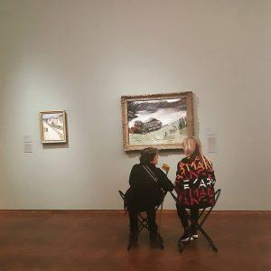 A ako si vieš vychutnať umenie ty? #kulturnyambasador #umenieokolonas #umenie #art #leopoldmuseum #vienna ...