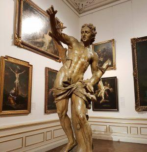 Escultura de Giovanni Giuliani. Uma homenagem ao santo padroeiro de uma cidade tão maltratada como o Rio...