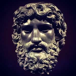 #jupiter #bronze #head (#rome 1st century BC) from the collection of Duke Ferdinand ...