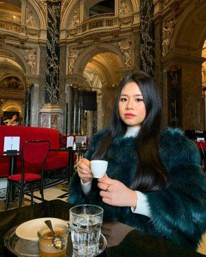 But first, coffee ☕️⛽️ Kunsthistorisches Museum Vienna