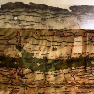VINDOBONA - eine Karte mit Wien aus dem Papyrusmuseum! #kleinegeschichtsstunde #werfindetvindobona #stadtbekanntkultur #stadtbekannt #ichbinstadtbekannt #freiereintritt Papyrusmuseum der...