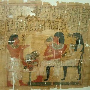 #stopandsmelltheflowers Papyrusmuseum der Österreichischen Nationalbibliothek