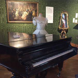 Johann Strauss-Wohnung in Leopoldstadt! Wenn man dieses Museum betritt, kann man schon den ...