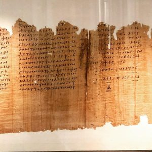 #PapyrusMuseum #ÖsterreichischesNationalBibliotek #PapiroRainer #Senofonte #Elleniche #subscriptio #divisioneinlibri #anticoamore Papyrusmuseum der Österreichischen Nationalbibliothek