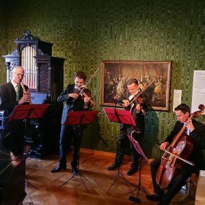 House #concert in Johann Strauss Apartment with #conciliummusicumwien #waltzer Wien Museum Johann Strauß Wohnung