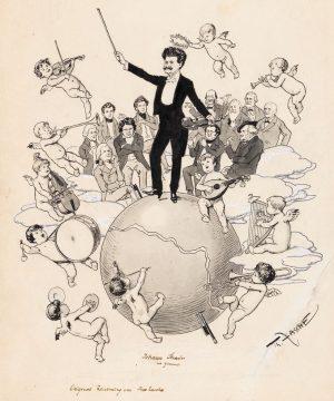 Ob Johann Strauss heute Nacht vom Himmel aus mittanzen wird, so wie in ...