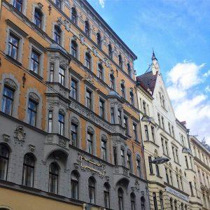 Zur alten Schleifmühle, erbaut 1895 #Wien #Vienna #urban #Stadt #City #Geschichte #History #Architektur #Architecture Anzengruber-Cafe
