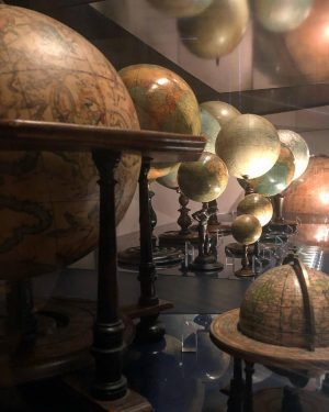 A museum of globes is the worst place for a dreamer like me. I spent hours being...