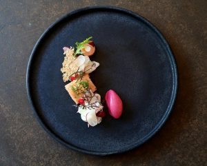 A new dish we would like to introduce you to: Lake Char | Radish | Sour Cream...