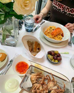 heavenly delicious 🤤🍝🦞 #restaurantkornat Restaurant Kornat