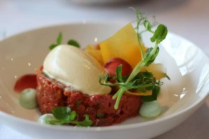 Beef Tartare- Inside The Ring Hotel is their restaurant, At Eight. Had a wonderful lunch with classic...