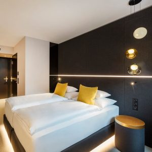No matter whether you book our rooms with garden or city view, smart luxury is always on...