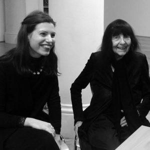 einer dieser Tage mit Friederike Mayröcker Fotos von Edith Schreiber Literaturmuseum der Österreichischen Nationalbibliothek