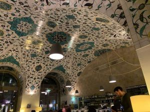 The lovely ceiling of Corbaci. One of my favorite places in Vienna, and ...