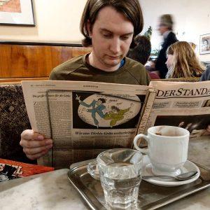 Wien + Kaffeehaus = undividable . . . . . #wien #vienna #österreich #austria #kaffehaus #coffee #cafe...