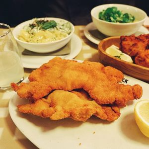 No trip to Vienna is complete without having a Wiener Schnitzel. Lugeck Figlmüller Wien