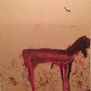 """Martha Jungwirth, aus der Serie der """"Trojanischen Pferde"""" in der @galeriekrinzinger #greatpainting #malerei ..."""