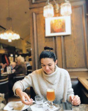 Штрудель в Вене съели в прекрасном кафе✔️ Сохраняйте локацию 😊 Cafe Schwarzenberg