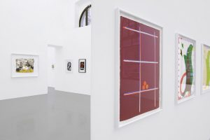 On View in Vienna: 1.COLOR 2.HOLE AND 3.JOKE at @meyerkainer. Selected Works on Paper Drawing became fashionable...