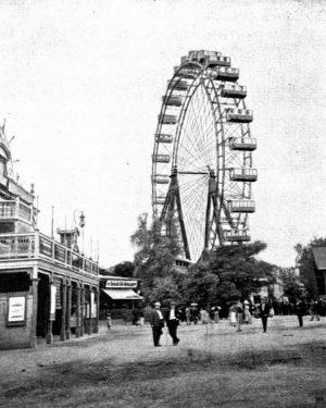 La noria de Prater en Viena, del 1897. Fue la más alta del ...