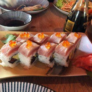 Ura Maki Rolls Crazy Tuna 🐟 Cafe Leopold