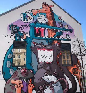 Nouveau mur sur Yppenplatz #wall #mur #wand #streetart #yppenplatz #wien #vienne #vienna #16bezirk ...