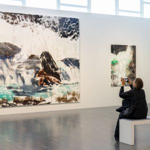 In his landscape paintings, Herbert Brandl shows a boundless, wild, simultaneously spectacular nature. ...
