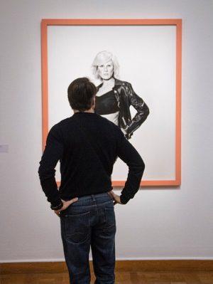 Me as Warhol in Drag with Scar . . #gillianwearing #measandywarhol #cindysherman #cindyshermaneffect ...