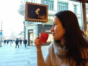 Утро начинается с венского кофе ☕ Julius Meinl am Graben
