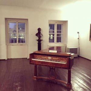 That time in Vienna when we popped into Beethoven's house 🎶 #vienna #pasqualatihaus ...