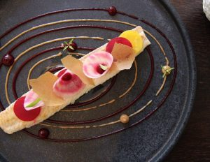 Art on a plate - the dishes at EDVARD restaurant are not just delicious, but also beautiful...