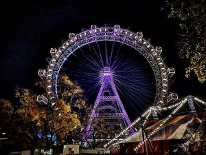 Do you like the Wiener Riesenrad more in the daytime or at night? ...