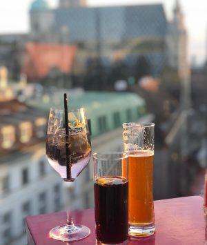 #drinks #drinkoftheday #yummy #cocktails #cocktailsofinstagram #cocktails🍹 #rooftop #lameerooftop #vienna #austria LAMÉE ROOFTOP