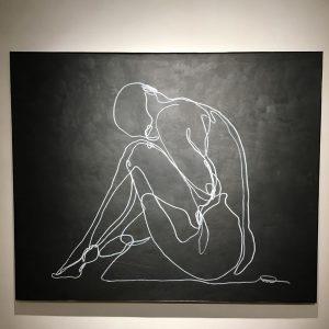 vernissage... #enjoy#art#kunst#wien Galerie Ernst Hilger