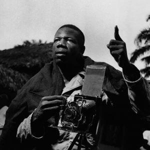 Mayola Amici, photographer, Congo 1948 Photo: Lennart Nilsson Part of the exhibition