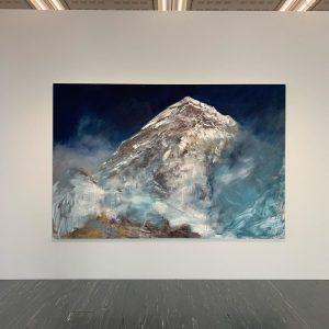 Herbert Brandl mountains at Belvedere21 in Vienna @belvederemuseum @herbertbrandl #mountain #vienna @rosemarieschwarzwaelder @naechstststephan ...