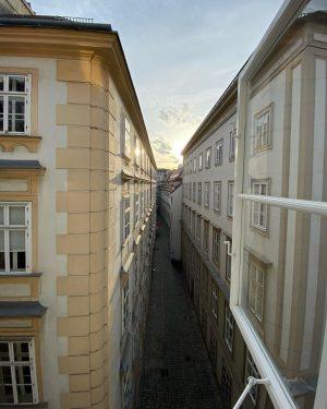 Because we just love this view so much ❤️☀️🌅 #mozarthausvienna #view #vienna #domgasse #blutgasse #vienna #wien #wienliebe...